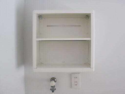 洗濯機の上のデッドスペースに「DYNAN(ディナン)を設置