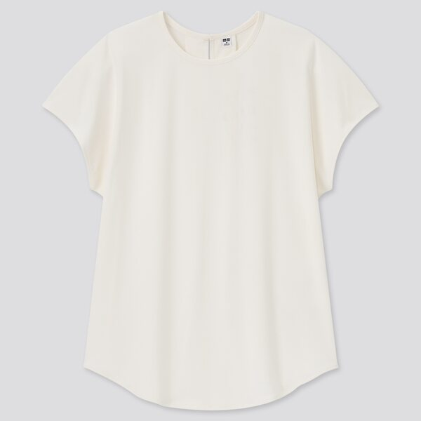 クレープジャージーフレンチスリーブTシャツ