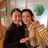 北川景子&田辺桃子、オフショ「現場ではとても仲良し」