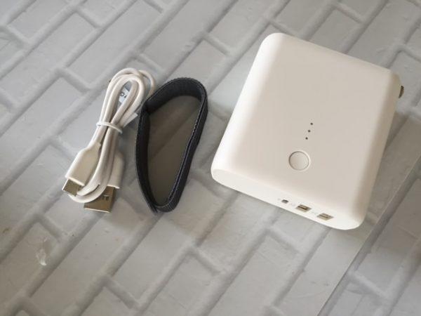 モバイルバッテリー・急速充電器付2