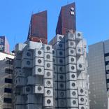 【まるで宇宙船】あの魅惑の建物「中銀カプセルタワービル」に住むことになった!