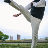 ストレッチと撥水で快適仕様! 国産児島ジーンズの白デニムは爽やかで穿きごこちもグッドでした
