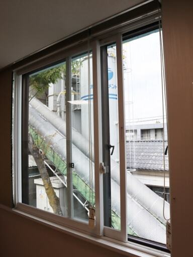 マテックス社内の窓