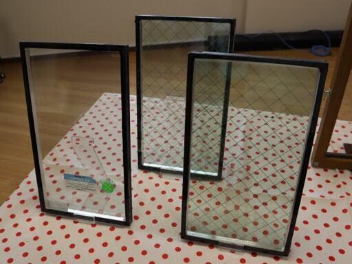 いろいろなタイプのペアガラス