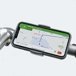 自転車やベビーカーに取付可能なスマホホルダー「LOOP MOUNT」誕生