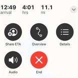 iOS14.5の新機能! 移動中に到着予定時間をサクッと共有する方法