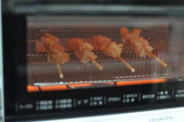 業務スーパー「焼き鳥もも串」調理法