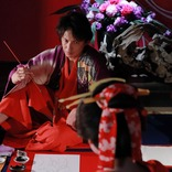 葛飾北斎 VS 喜多川歌麿、ふたつのプライドがぶつかりあう 映画『HOKUSAI』から対決シーンを公開