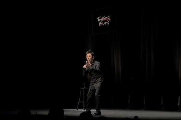古舘伊知郎 『古舘伊知郎トーキングブルース-やっかいな生き物-』(2020年12月)公演写真