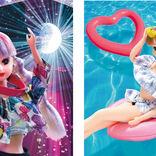 「#Licca」新作4種! リカちゃん17歳、夏フェスでタオル振る