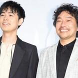 """成田凌、トータス松本と『おちょやん』""""嫌われコンビ""""再会に笑顔"""