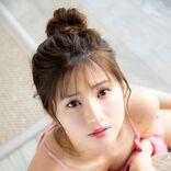 谷川愛梨1st写真集、NMB48卒業後初水着&人生初のランジェリー姿にも挑戦