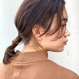 絶壁でもポニーテールでおしゃれが叶う。後頭部を上手にカバーするヘアアレンジ術