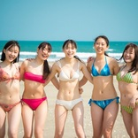 キャンパスクイーン10名がフレッシュな水着姿を披露 デジタル写真集が26日に発売