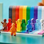 6月1日に発売されるレインボーなレゴ そこに込められた思いにグッとくる