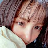 石川恋、濡れ髪&ピンクメイクのドアップに「ドキドキ」