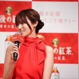 深田恭子、大好きないちごに舌鼓 冷蔵庫に常備「今日は2パック入っています」