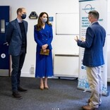 ウィリアム王子、DJに挑戦したキャサリン妃に笑いながら「耳が痛いよ!」