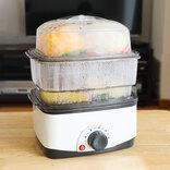 サンコーの卓上蒸し器があれば、ひとりでも簡単に「蒸し料理生活」を始められるよ