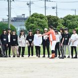 ラストアイドル、舞台『球詠』上演に向けた野球練習を公開