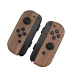 Nintendo Switchが木目調に!?スキンシールで手軽にアレンジ可能です。