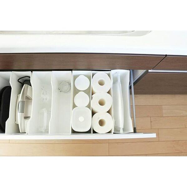 引出し型の洗面台におすすめの実例