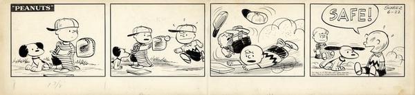 「ピーナッツ」原画 1954年6月22日