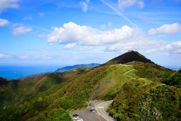 新潟県弥彦山