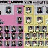 城田優・荒牧慶彦・佐藤流司のビジュアルが発表 『ACTORS☆LEAGUE 2021』レプリカ・ユニフォームなどグッズ通販も決定