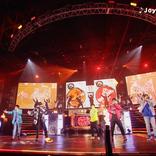 『ヒプノシスマイク』 6th LIVE ≪2nd D.R.B≫より、オオサカVSイケブクロのバトル曲「Joy for Struggle」の映像が公開