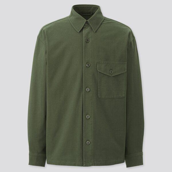 オーバーシャツジャケット