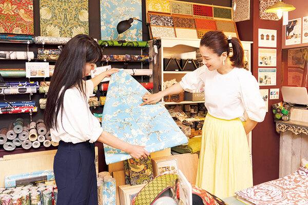 遼河さんが気になった壁紙はゴッホの「花咲くアーモンドの木の枝」