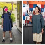 """パリでも割烹着、子どもの靴下は""""日本製の白""""。中村江里子流ママ・スタイル"""