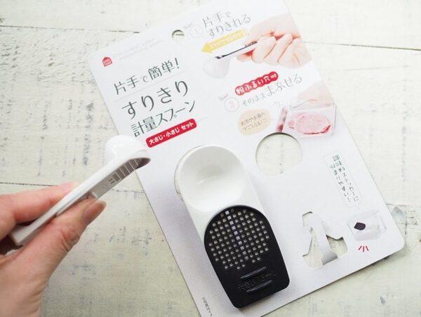 ・セリア「すりきり計量スプーン」 100円(税抜)2