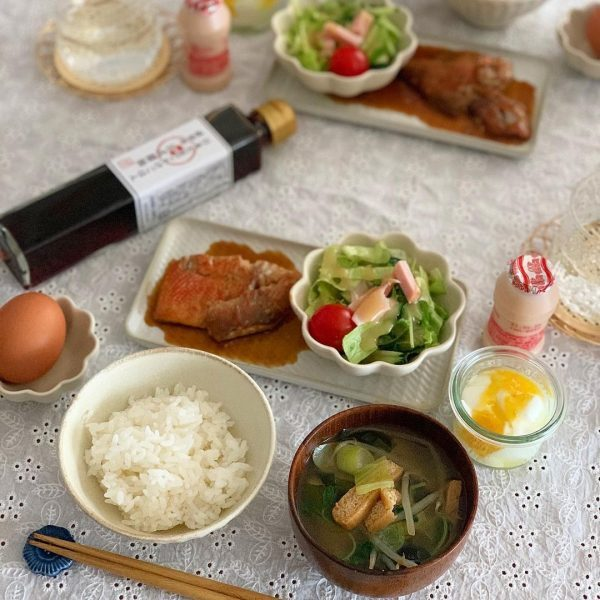 朝ごはんに定番の献立!美味しい煮魚