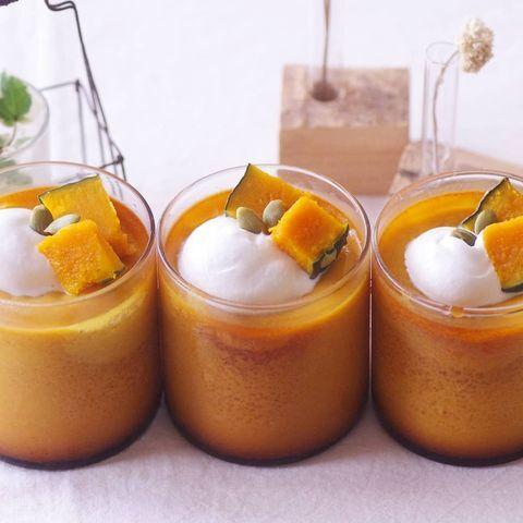 人気の洋菓子!手作りでかぼちゃプリン