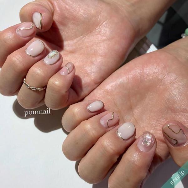 pom nailが投稿したネイルデザイン [photoid:I0074120] via Itnail Design (645823)
