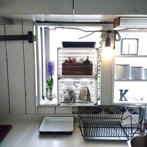 キッチンにヒヤシンスで健康運アップ