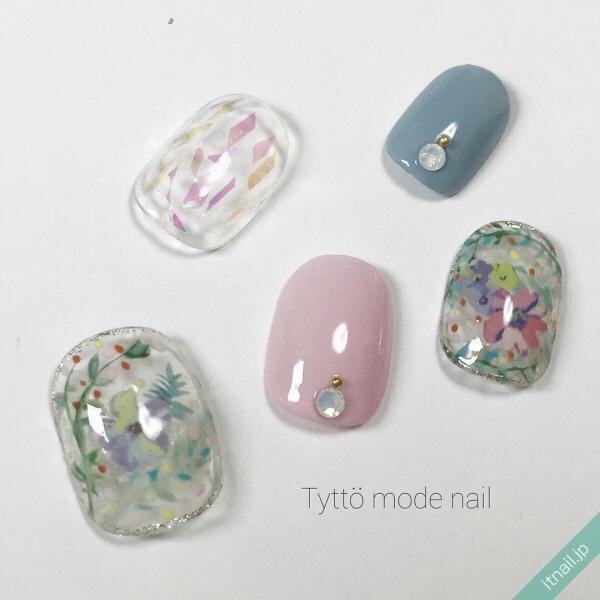 Tyttö mode nailが投稿したネイルデザイン [photoid:I0025528] via Itnail Design (645106)