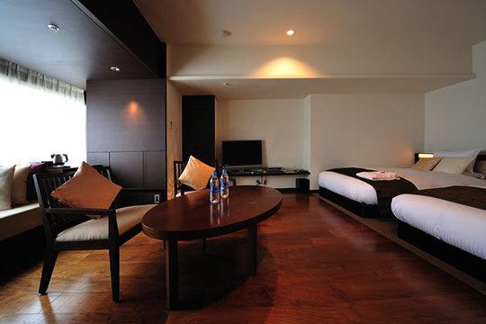 客室一例(ミクラスコンフォート/67平米・2ベッドルーム)