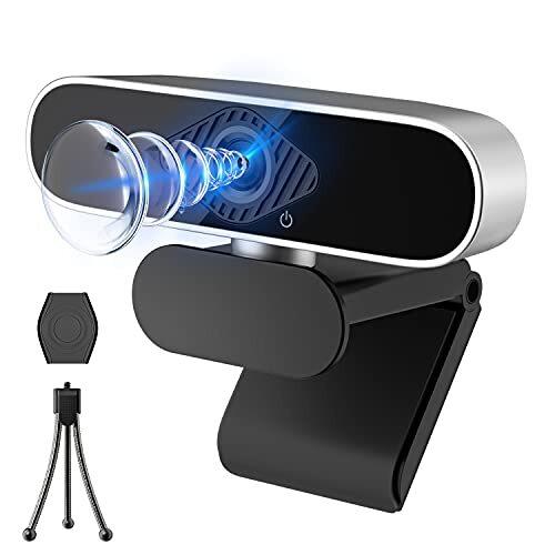 ウェブカメラ フルHD 1080P ウェブカム 30FPS 300万画素 Webカメラ 自動フォーカス 内蔵マイク PC カメラ USBカメラ 在宅勤務必要 家庭 会議 動画配信 ゲーム実況 授業カメラ ビデオ通話用 Windows XP/7/8/10/2000/Mac OS X/Linux対応
