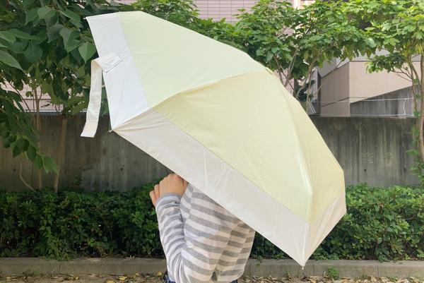 Wpc. 日傘 折りたたみ傘 遮光切り継ぎtiny