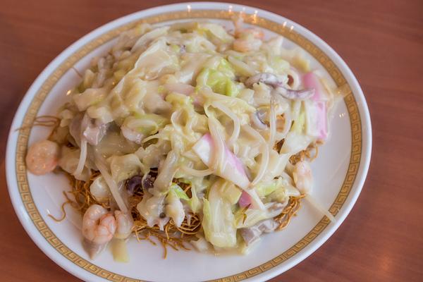 四海樓皿うどん細麺