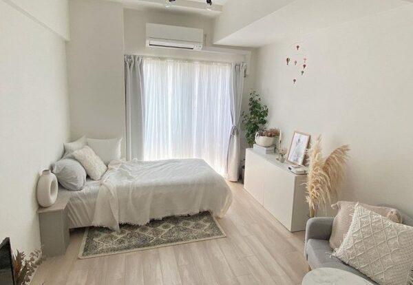 小さめの家具で作るワンルームレイアウト