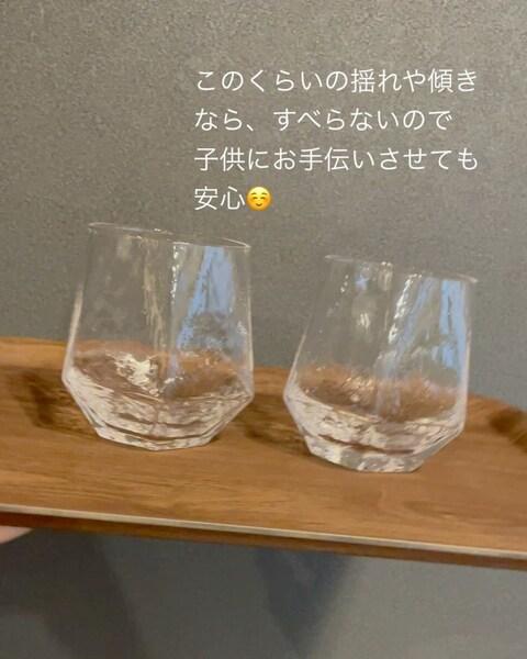 カラーガラスフラワーベース1