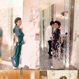 高岡早紀、玉木宏と寄り添う2ショット公開「とても男っぽい素敵な俳優さん」