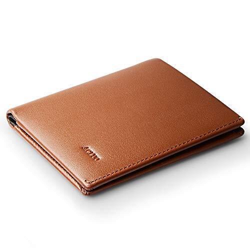 一流の革職人が作る 薄型 財布 メンズ 二つ折り 本革 薄い 小さい 紳士 2つ折り財布 ビジネスマンの牛革 小型 小銭入れ コンパクト (ライトブラウン)