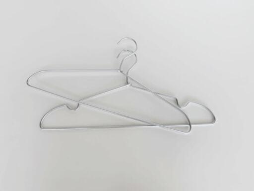 無印良品のアルミ洗濯用ハンガー