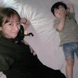 """辻希美、寝起きが悪かった2歳三男が""""めちゃくちゃ怒った""""こととは?「開けると…」"""