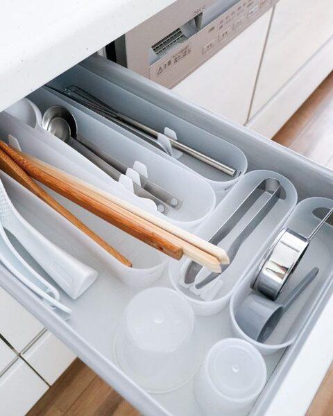お気に入りのキッチンツールを使いやすく